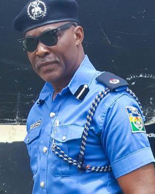 Image result for korede bello in police uniform