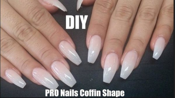 Monday Manicure How To Fix Acrylic Nails And Create A Coffin Shape Bellanaija