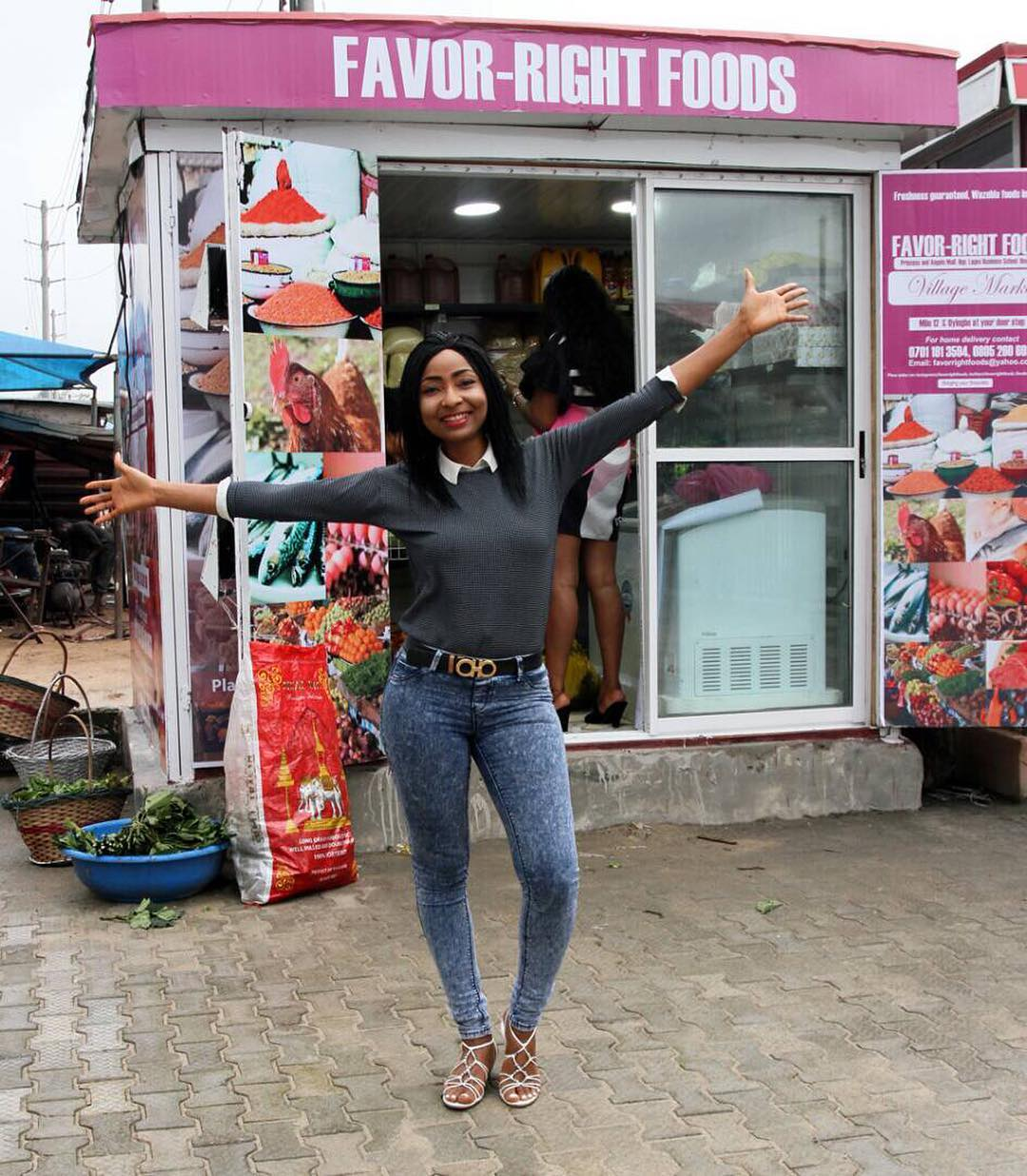 BellaNaija - Actress Belinda Effah launches New Food Stores