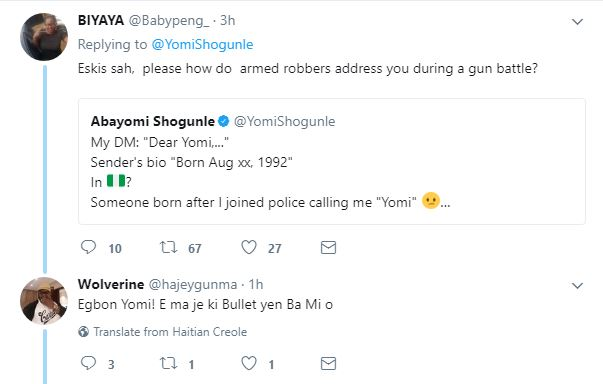 BellaNaija - A Case of Respect? This ACP Yomi Shogunle's Tweet is trending on Twitter