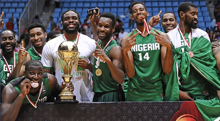 Nigeria's Men Basketball Team D'Tigers Qualifies for 2020 Olympics