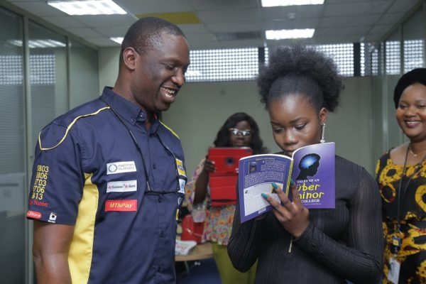 MTN Nigeria stands with 18-Year-Old Nigerian PHD student to Inspire and Empower Young Nigerians to Embrace Greatness