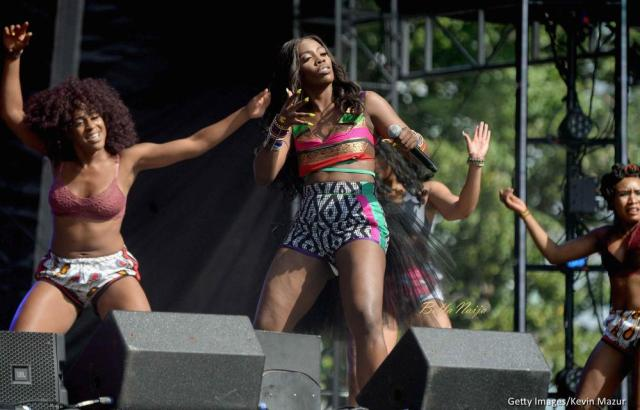 BellaNaija - Tiwa Savage lights up Day 2 of Made in America Festival 2017