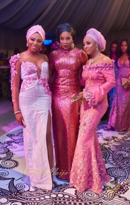 Photos From Banky W And Adesua Etomi's Wedding