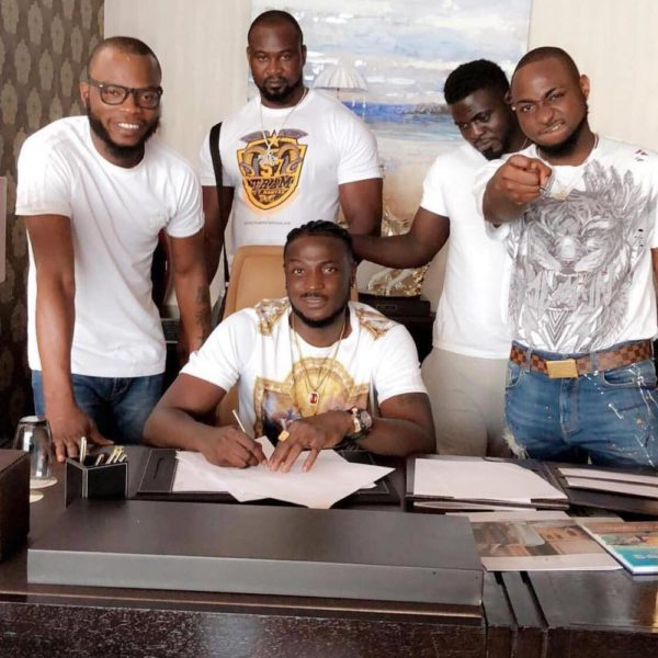 Davido signs new artist Peruzzi to his Record Label - BellaNaija