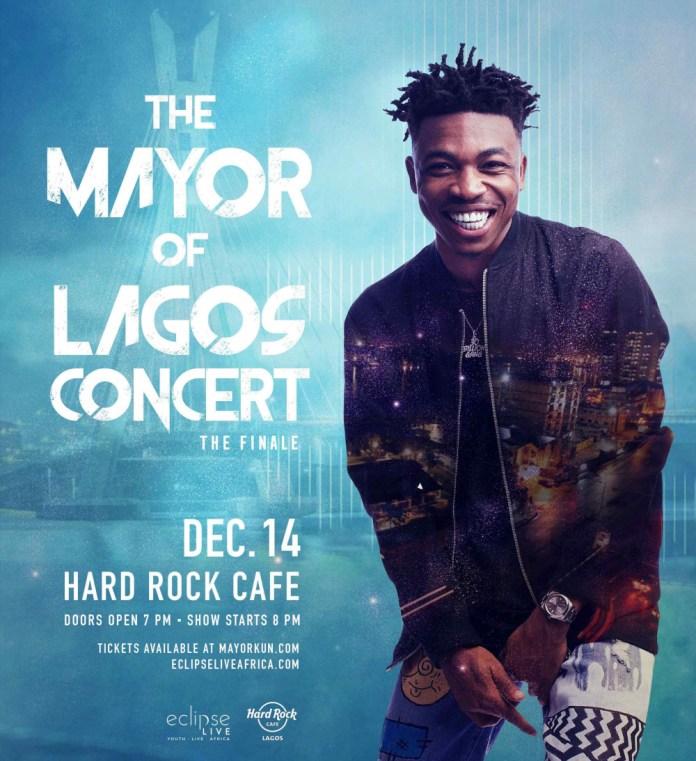Mayor of Lagos! Mayorkun set to round up School Tour with Headline Concert in Lagos