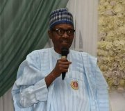 """President Buhari-I will remain focused to move the country forward"""""""