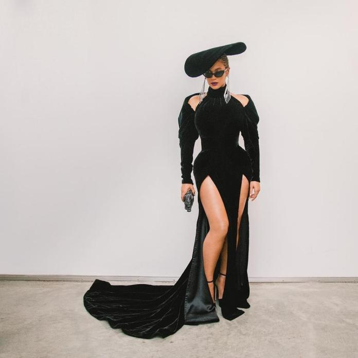 Image result for beyonce grammy look 2018