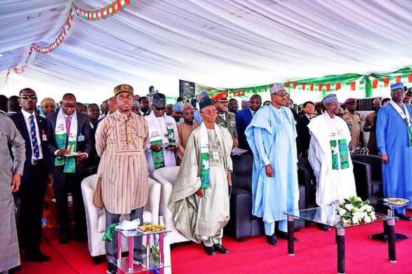 President Buhari commissions Abuja Light Rail | BellaNaija