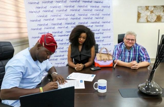 #BBNaija's CeeC Signs Endorsement Deal with NairaBET