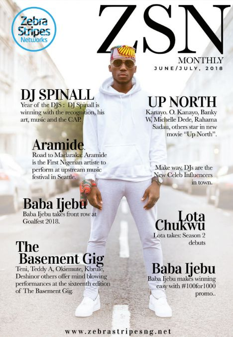 """The Year of the DJs""! DJ Spinall covers ZSN Monthly's Latest Edition"
