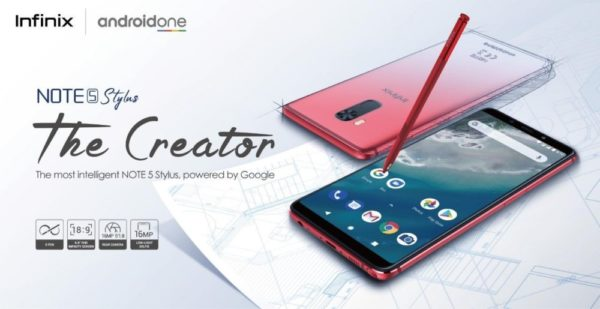 , Express your Creativity with the New Note 5 Stylus!! Infinix partners with Google to release the most intelligent Smartphone Yet, Naijasee