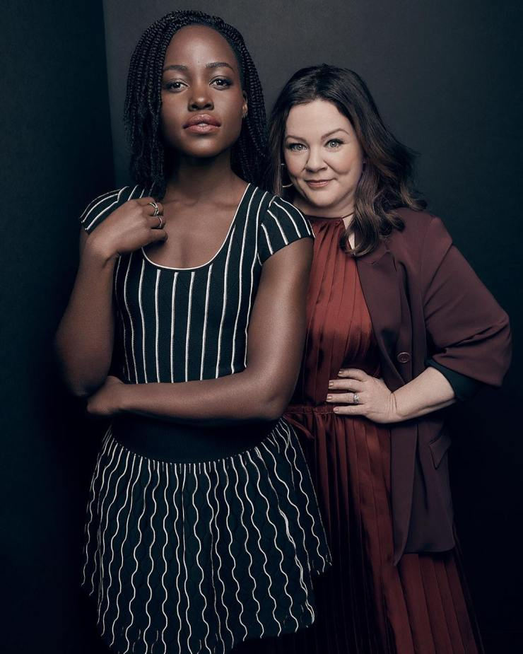 Lupita Nyong'o & Melissa McCarthy grace Variety Magazine's 'Actors on Actor' Issue