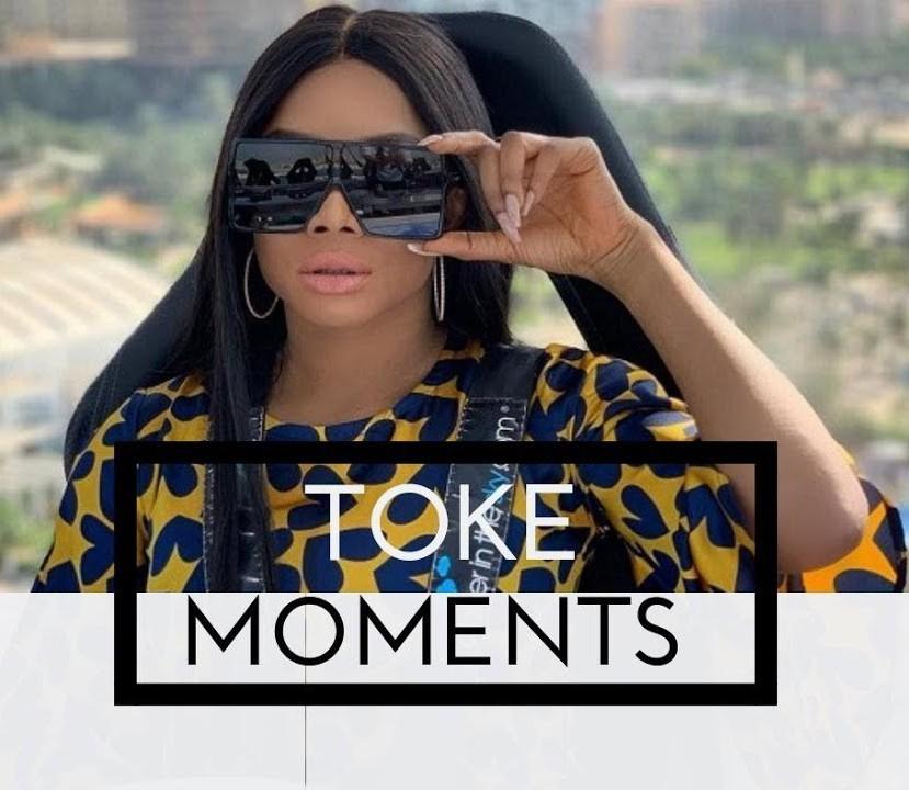 Toke Makinwa Toke Moments
