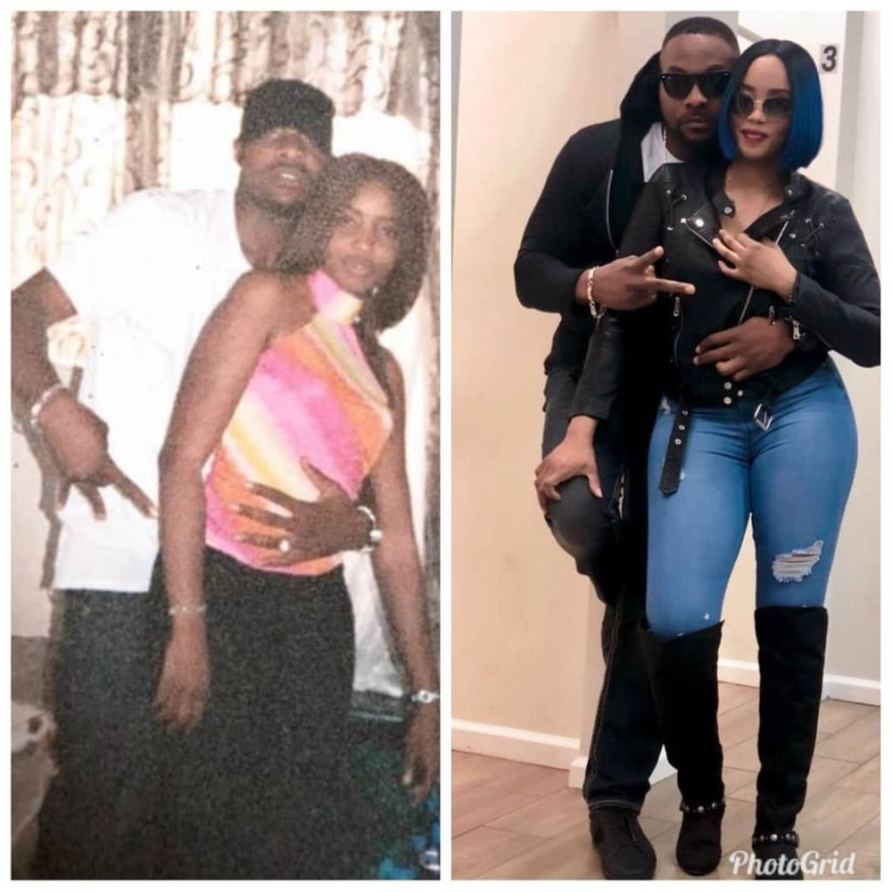 Bolanle Ninalowo is appreciating his Partner Bunmi with these Photos that are 15 Years Apart! | BellaNaija
