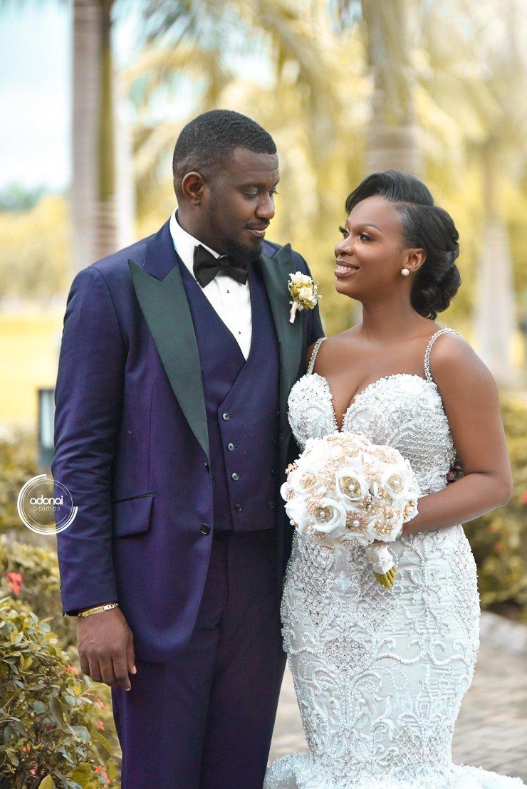 With Love from Ghana! Gift Mawuenya & John Dumelo's Outdoor Wedding