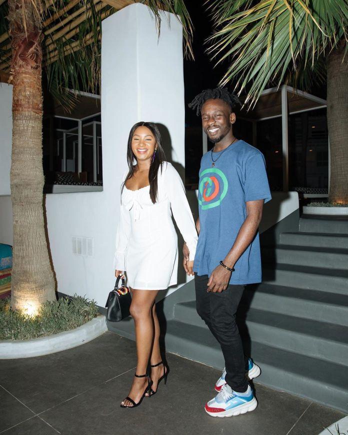 Lovebirds Mr Eazi & Temi Otedola take Mykonos 😍