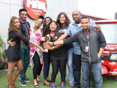 """Hearty Cheers to Max 102.3 FM for bagging The """"Innovative Young Radio Station of the Year"""" Award"""