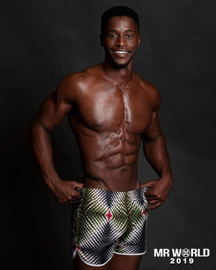 Our African Men are So 😍 in these Swimwear Portraits for Mr World 2019 Beauty Pageant