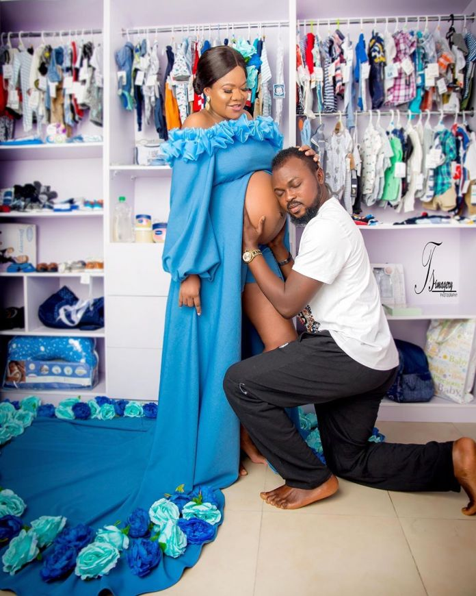 You've Got to See Proud Parents Toyin Abraham & Kolawole Ajeyemi in these Baby Bump Photos