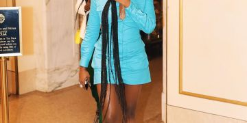 Noticed: Tiwa Savage keeping things Simple & Classy at New York Fashion Week | #NYFW