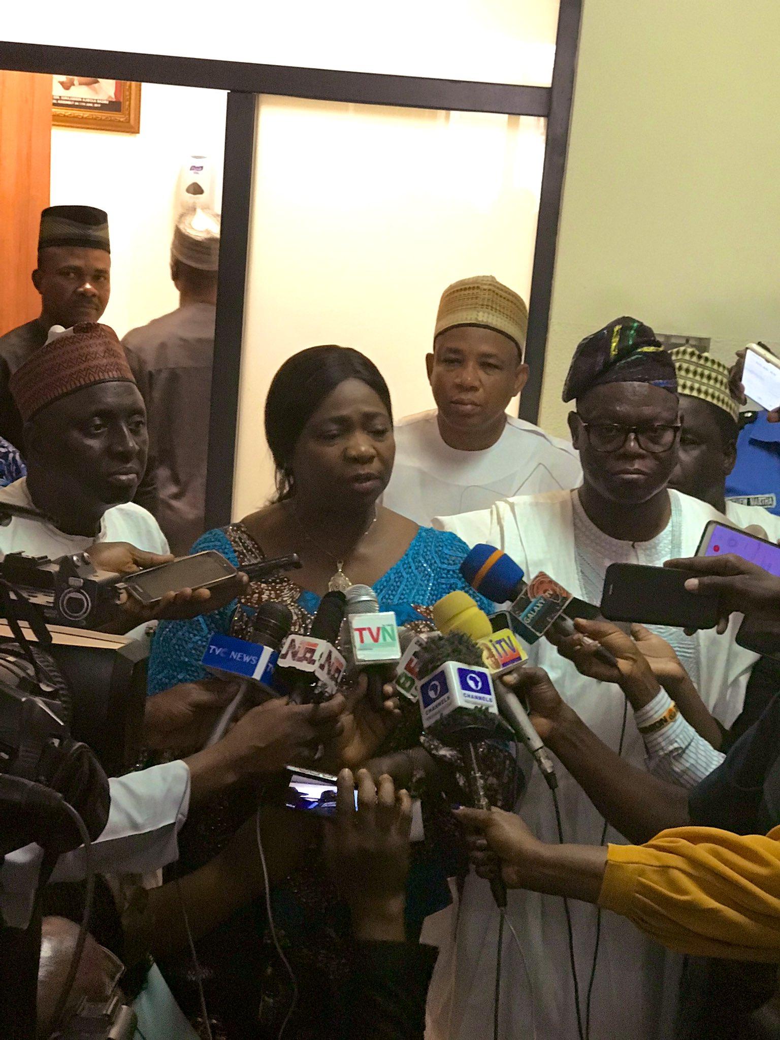 Coronavirus: Abike Dabiri-Erewa has a Message for Nigerians living in China