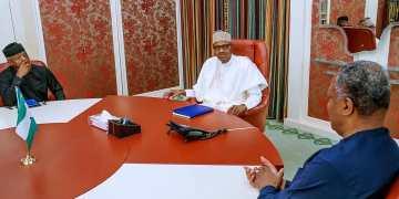 Xenophobia: Buhari, Osinbajo, Onyeama Meet