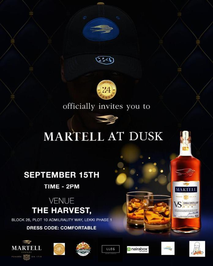Countdown to Sunday! Don't Miss The Much-anticipated Martell Dusk to Dawn Party 🎉