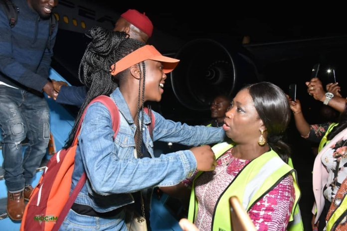 187 Nigerians Arrive from South Africa
