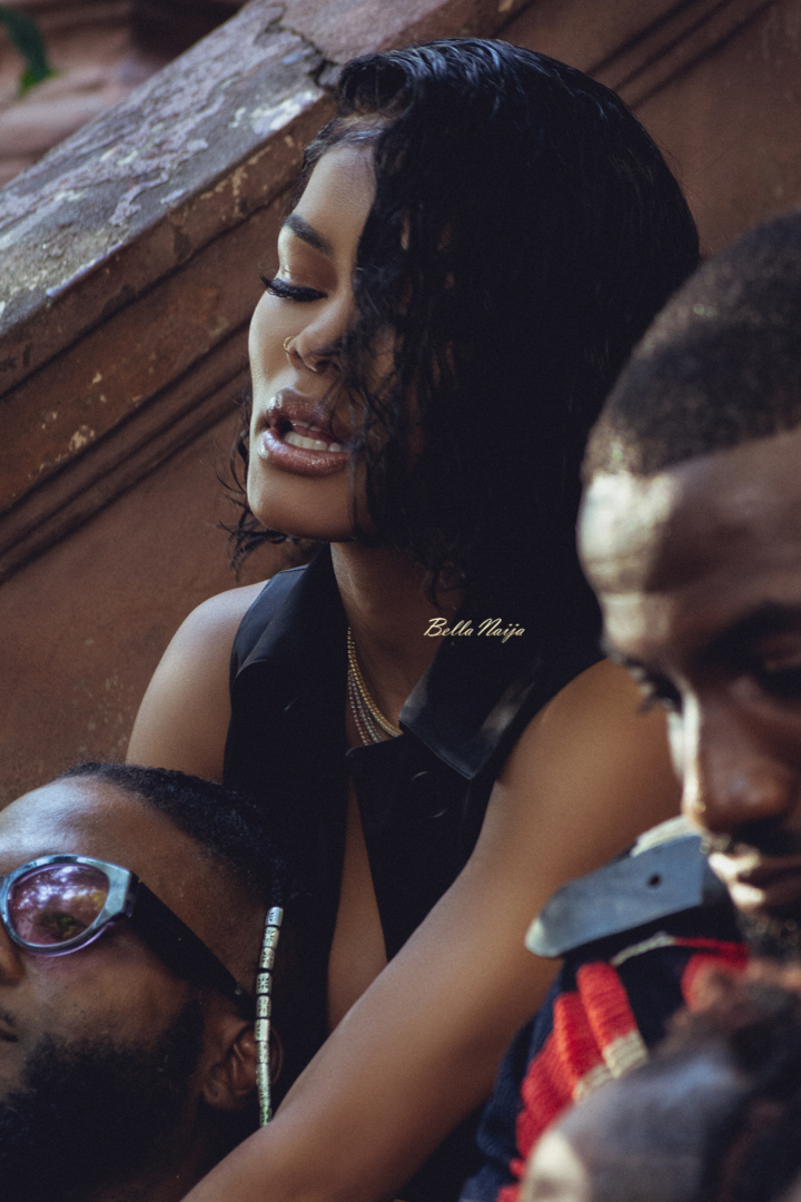 """MUST SEE: All the Behind the Scenes Action from Seyi Shay & Teyana Taylor's Video for """"Gimme Love"""" Remix"""