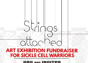 CrimsonBow Sickle Cell Initiative invites You to its Art Exhibition Fundraiser tagged 'Strings Attached' | Oct 27th – Nov 2nd