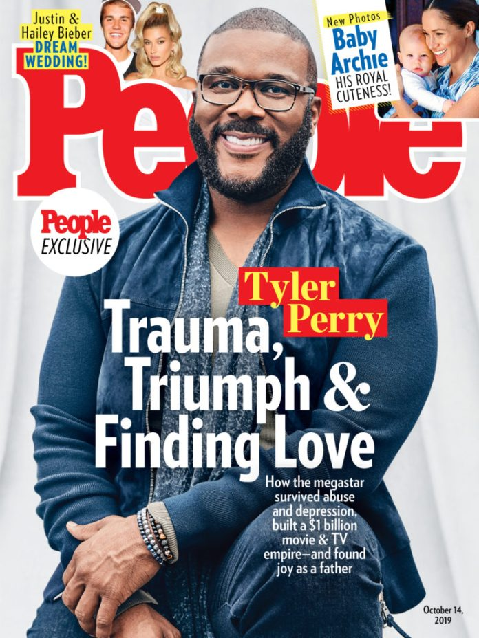 Tyler Perry Opens up on Triumphing Over a Traumatic Childhood, Finding Love as he Graces the Cover of People Magazine
