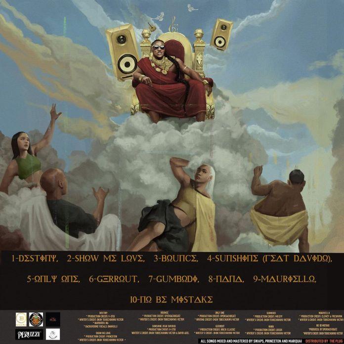 "Peruzzi Unveils Artwork & Tracklist for Debut Album ""Huncho Vibes"""