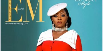 """Meet Media's New Sweetheart on Exquisite Magazine's October Cover – Ariyike """"Dimples"""" Owolagba"""