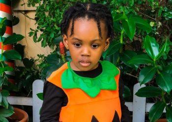 Jude & Ify Okoye's Daughter Eleanor is a Cute Lil' Pumpkin for Halloween