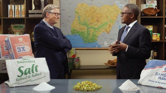 "Bill Gates Narrates the Genesis of his ""Fruitful Friendship"" with Aliko Dangote"