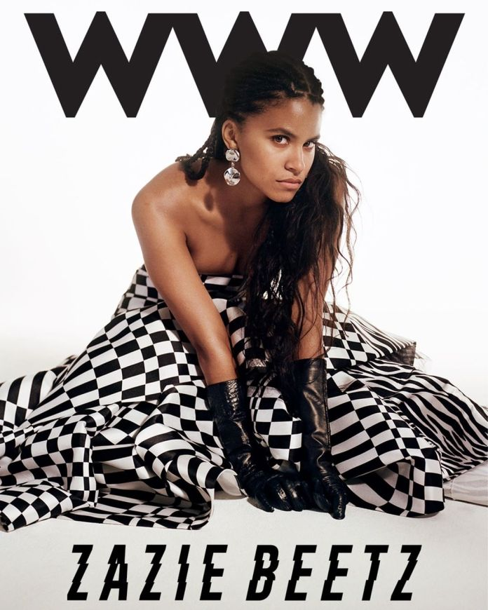 Zazie Beetz is Stunning on the Cover of Whowhatwear's Latest Issue