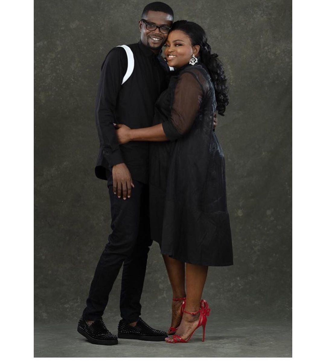 "Funke Akindele Bello shares Beautiful Photos with JJC Skillz: ""Love you silly"""