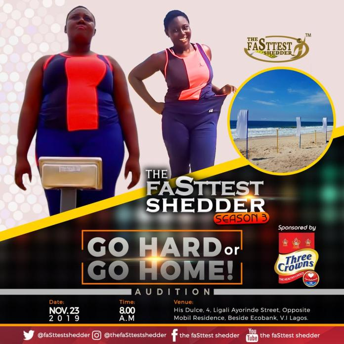 """10 Contestants to """"Go Hard or Go Home"""" in New Season of Weight-loss Actuality TV Present 'The faSttest Shedder'"""