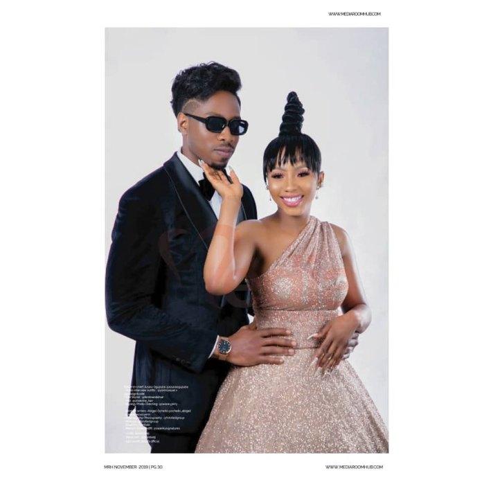 #BBNaija's Mercy & Ike are serving up Power Couple Vibes for MediaRoom Hub's November Issue