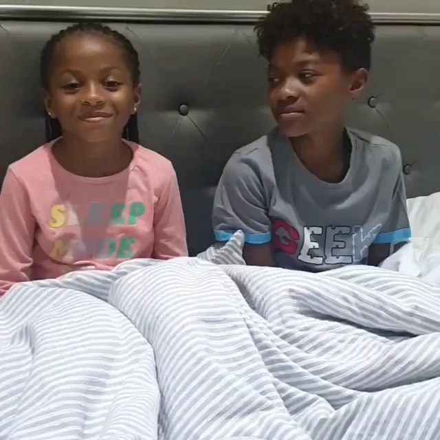 Peter & Lola Omotayo-Okoye's Kids Aliona and Cameron want to wish their Dad & his Twin a Happy Birthday