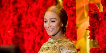 You Need to See DJ Cuppy's reaction to Dangote's Donation at CuppyGoldGala (So Lovely!)