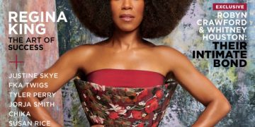 All Hail the King! Regina King is the Perfect Muse for the Cover of Essence Magazine December Art Issue