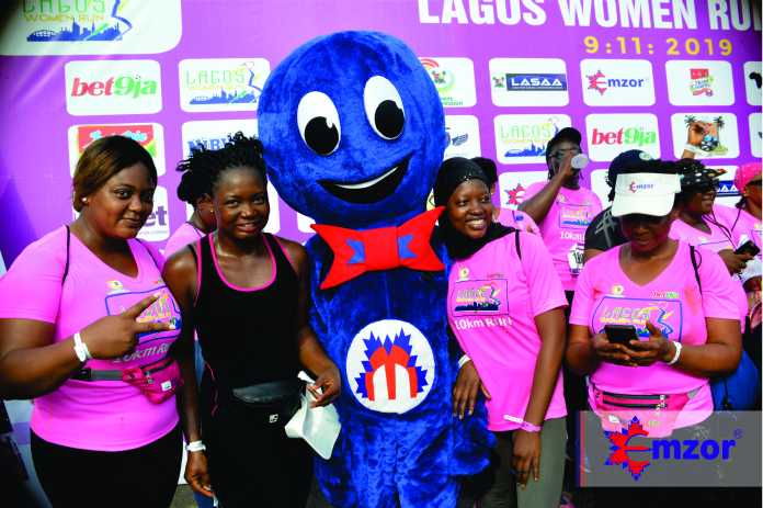 Emzor Pharmaceuticals is promoting All-Round Wellness by supporting the 4th Edition of Lagos Women's Run