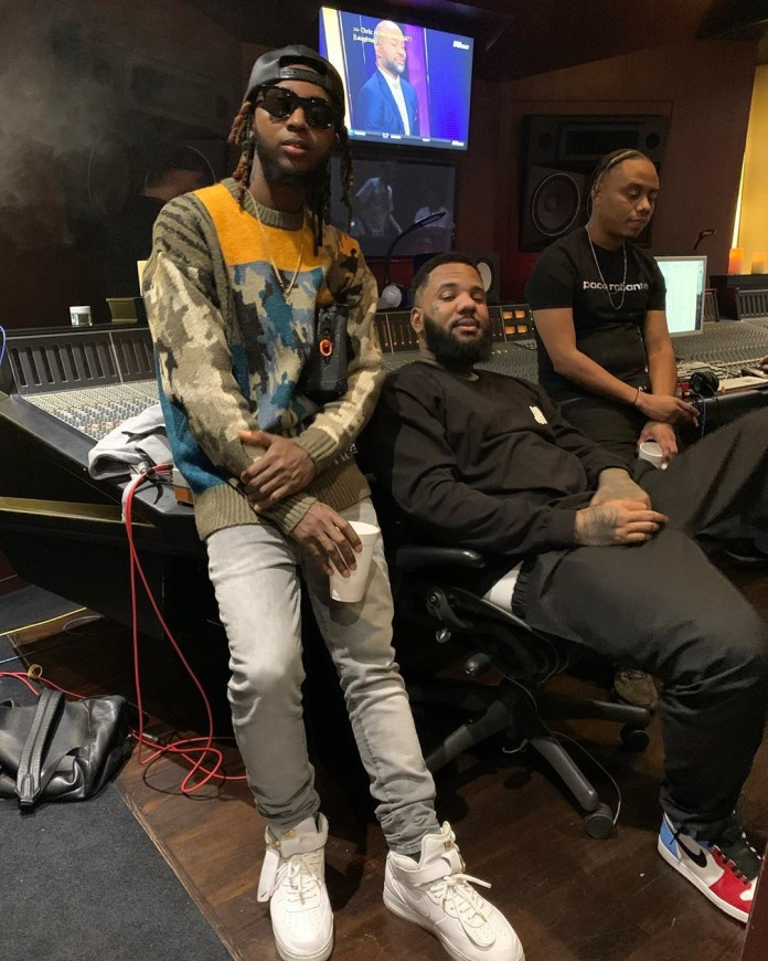 We Seriously Can't Wait to see What Yung6ix & The Game Cook up in the Studio