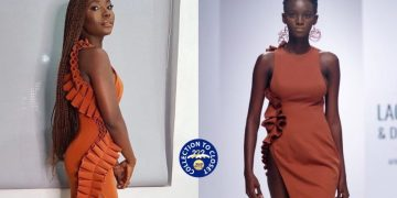 BN Collection to Closet: Bidemi Zakariyau Akande In Andrea Iyamah