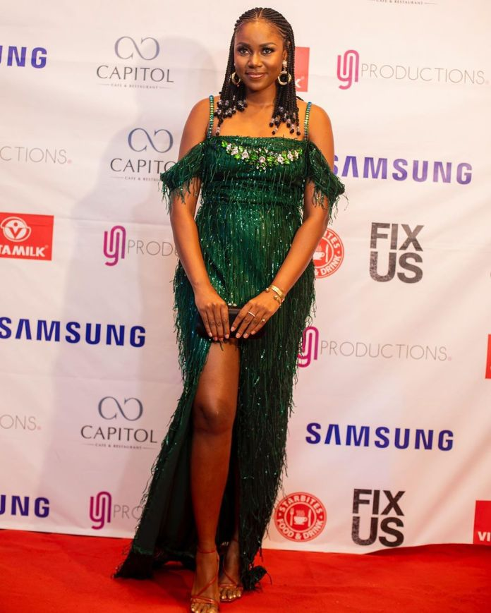 "Yvonne Nelson Just Premiered A New Movie ""Fix Us"" & We've Got The Photos"