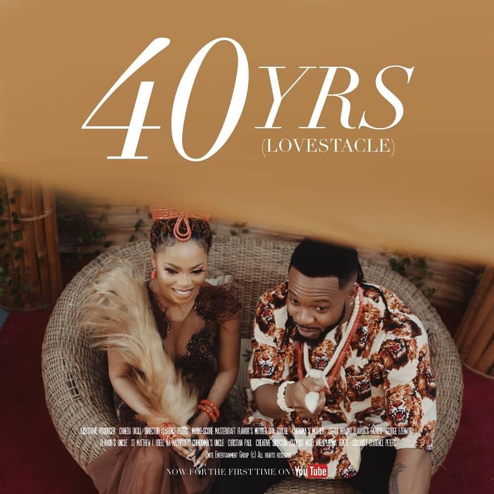 Flavour & Chidinma debut Short Film 40yrs Lovestacle starring Rita Edochie, George Ezenwora & Ogechi Obilonu   WATCH