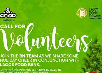We're Teaming Up with Lagos Food Bank For BN Do Good 2019 & We'd Love You To Join Us