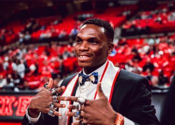 Divine Oduduru Graduates from Texas University